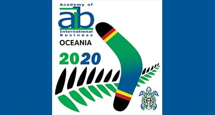 aib oceania 2020 conference logo